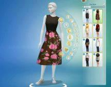 Sims 4 Restaurant Uniform (3)